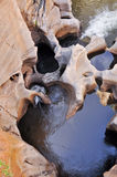 Potholes. Bourkes Luck Potholes, South Africa Royalty Free Stock Photo