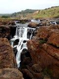 Potholes van het Bourke` s Geluk de Rivier Zuid-Afrika van Blyde Royalty-vrije Stock Fotografie