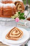 Potica, Slovenian Walnut Roll Royalty Free Stock Photos
