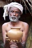 Potier indien photographie stock libre de droits