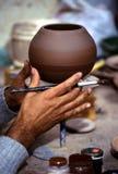 Potier Pérou Image stock