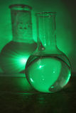 Potion in a beaker stock photography