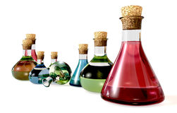 Potion Bottle Collection Stock Photos