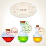Potion set stock illustration