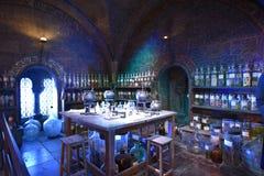 Potions classroom at Warner Bros studio royalty free stock image