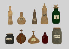 Potions pack Royalty Free Stock Image
