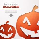Potiron d'abrégé sur Halloween Photo stock