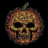 Potiron de crâne de papillon Images libres de droits