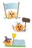 Potiron de Halloween Photo libre de droits