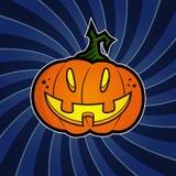 Potiron de Halloween Photos libres de droits