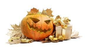 Potiron de Halloween Photos stock