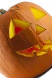 Potiron 01 de Halloween Image libre de droits