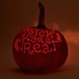 potiron de Halloween de Jack-o'-lanternes Photo libre de droits