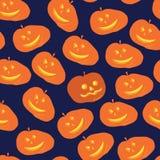 Potiron de Halloween de nuit de réunion de sorcières Photographie stock