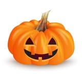 Potiron drôle de Halloween Image libre de droits