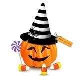 Potiron drôle de Halloween Photos stock