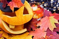 Potiron Halloween Photos libres de droits