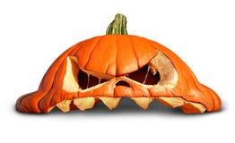 Potiron Halloween Photo libre de droits
