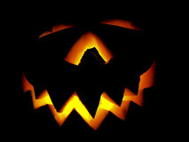 Potiron Halloween Jack O'Lantern photographie stock