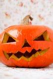 Potiron Jack O'Lantern de Halloween. Photographie stock libre de droits