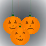 Potiron pendant des vacances Halloween Image stock