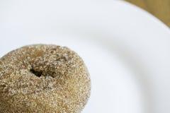 Potiron Sugar Donut Doughnut Plate photos libres de droits