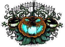 Potirons de Halloween Illustration Stock