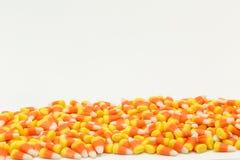Potirons Halloween de bonbons au maïs Photos libres de droits