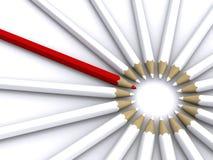 Potloden vector illustratie
