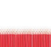 Potloden die op wit worden geïsoleerdd Royalty-vrije Stock Afbeelding