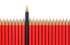 Potloden (het knippen inbegrepen weg) Stock Foto