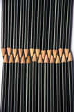 Potloden op wit Stock Afbeelding