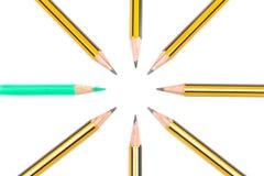Potloden samen Stock Afbeelding