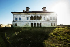 Potlogi Palace of Constantin Brâncoveanu, Dâmboviţa County, Romania - front view Royalty Free Stock Images