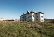 Potlogi Palace of Constantin Brâncoveanu, Dâmboviţa County, Romania - lateral view Royalty Free Stock Image