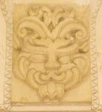 Potlogi Palace of Constantin Brâncoveanu, Dâmboviţa County, Romania - details Brancovan style Royalty Free Stock Photography