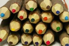Potlood in kleur Stock Afbeeldingen