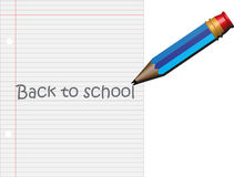 Potlood terug naar School Stock Foto's