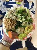 Potluck do vegetariano Fotos de Stock