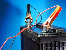 Potência de bateria Imagens de Stock