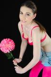 Potência de flor Imagem de Stock