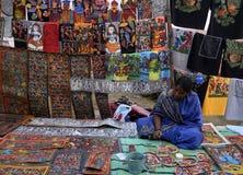 Potochitrakunstenaar Royalty-vrije Stock Foto's