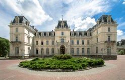 Potocki宫殿,利沃夫州 免版税库存图片
