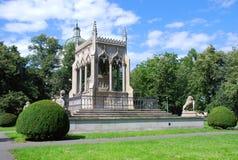 Potocki family tomb. Historical Potocki family tomb in Wilanów (Warsaw, Poland Royalty Free Stock Photos
