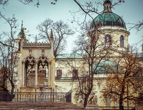 Potocki mausoleum Royalty Free Stock Image