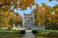 Potocki mausoleum in Wilanow (Warsaw, Poland) Stock Photography