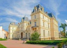 Potocki pałac w mieście Lviv, Ukraina Obraz Royalty Free