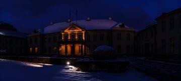 Potocki Palace at Krakowskie Przedmiescie, Warsaw Stock Photo