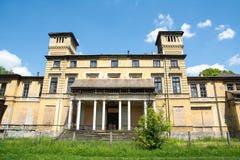 Potocki Palace in Krzeszowice (Poland) Stock Photos