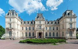 Potocki Palace in Lviv, Ukraine royalty free stock images
